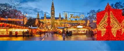 Коледни базари в Аристократичната Виена