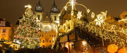 Коледни базари в Прага и Братислава
