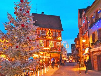 Магията на Коледа в Елзас